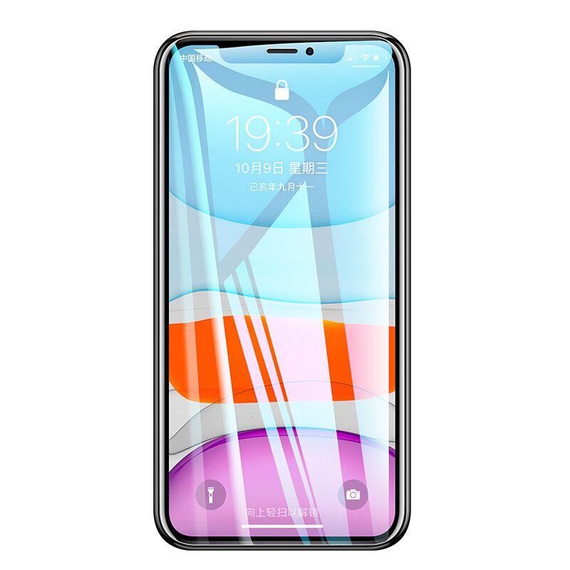 苹果12钢化水凝膜苹果X/xr/xs/全屏覆盖iphone7/8/plus偷窥全包边iphone11pro max磨砂纳