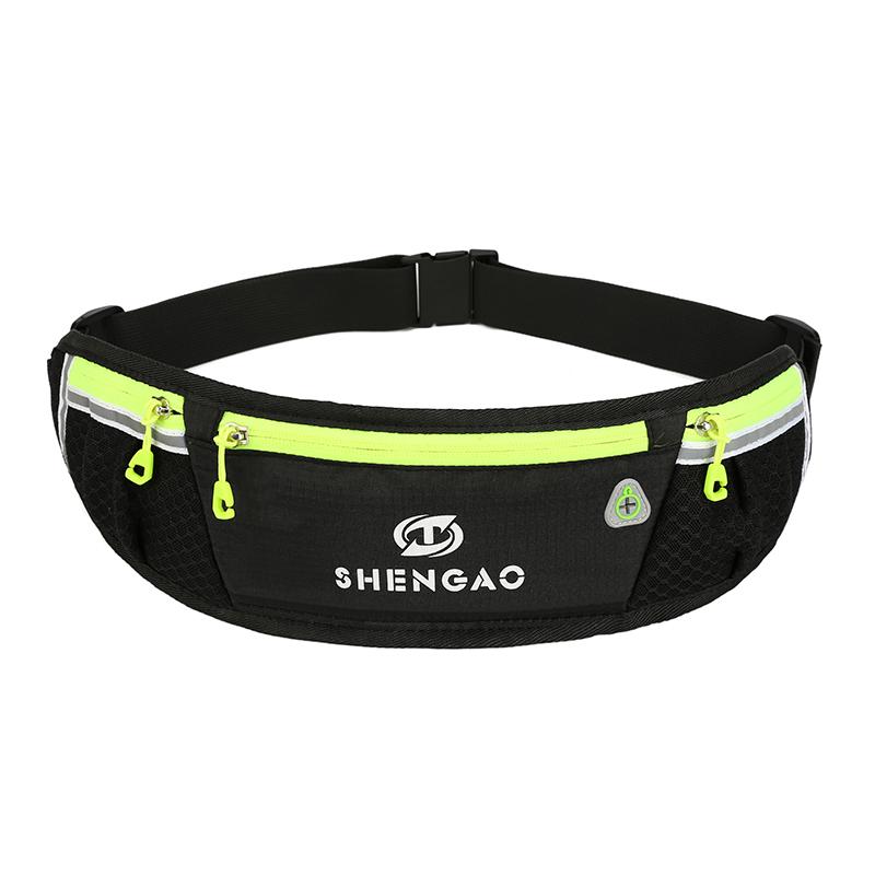 多功能休闲跑步腰包手机包运动超薄贴身男女水壶包户外防水小腰包