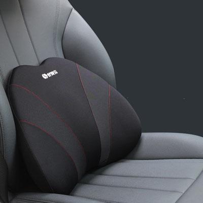 记忆棉汽车腰靠办公室护腰垫背驾驶座椅靠枕四季车用司机腰部支撑