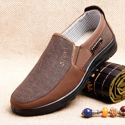 老北京布鞋男旗舰店中老年人男鞋爸爸鞋子春秋款中年男士鞋休闲鞋