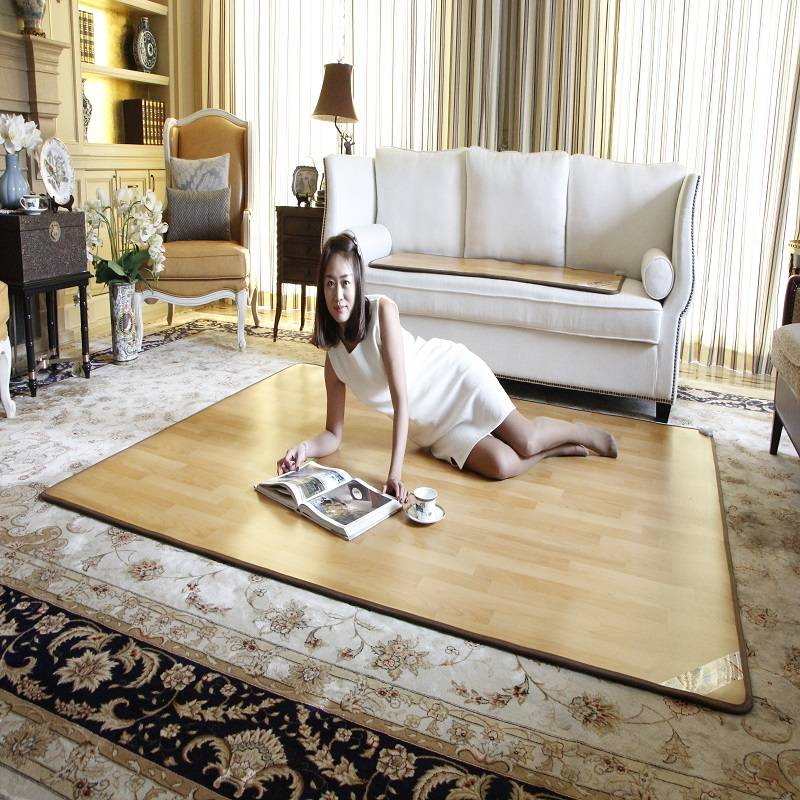 韩国碳晶地暖垫电热地毯电热地垫加热垫电热地板家用客厅地垫热卖