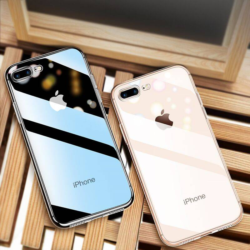 苹果7plus手机壳iphone11Pro/6/6s/7/8/xr/x/xs/max透明硅胶防摔iphonexr保护套iphonex软ProMax男女款七P外