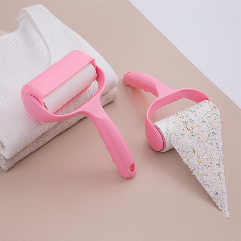 粘毛器可撕式粘尘纸毛刷衣服粘尘纸滚筒女家用去除毛器刷粘毛神器