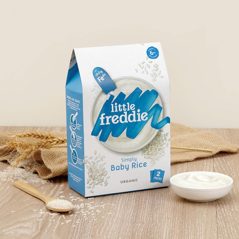 小皮欧洲原装进口高铁大米粉160g 宝宝辅食婴儿原味第1段营养米糊