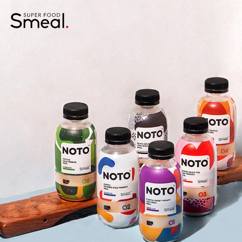 SmealNOTO代餐粉代餐奶昔蛋白膳食饱腹食品全营养30瓶装