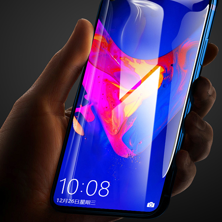 适用于华为荣耀20钢化膜荣耀9X贴膜v30手机30S抗蓝光20s玻璃膜荣耀20i超薄曲面30pro膜荣耀8x全贴合9xp