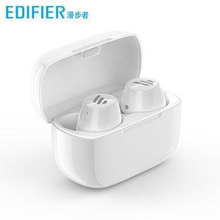 Edifier/漫步者TWS1真无线蓝牙耳机单双耳入耳式运动防水耳塞通用