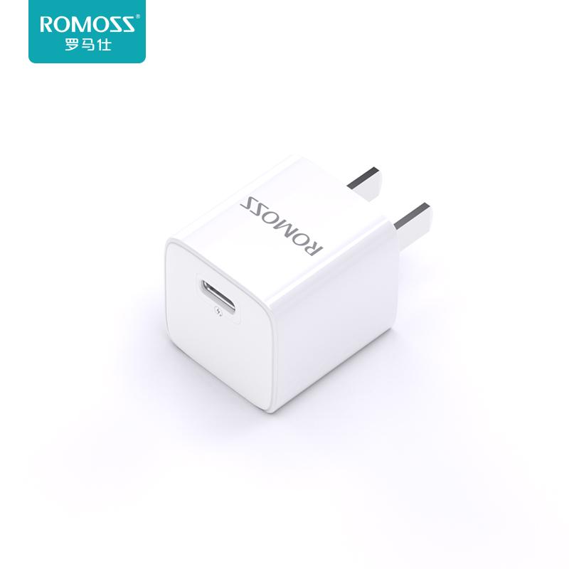 罗马仕iPhone13充电器头pd快充20w快速适用于苹果12pro手机11数据线8plus单头xs闪充xr通用ipad