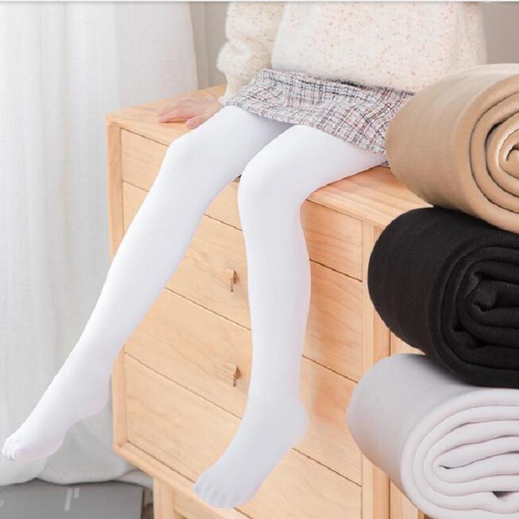儿童连裤袜春秋薄款丝袜夏女童白色跳舞打底裤中厚练功专用舞蹈袜