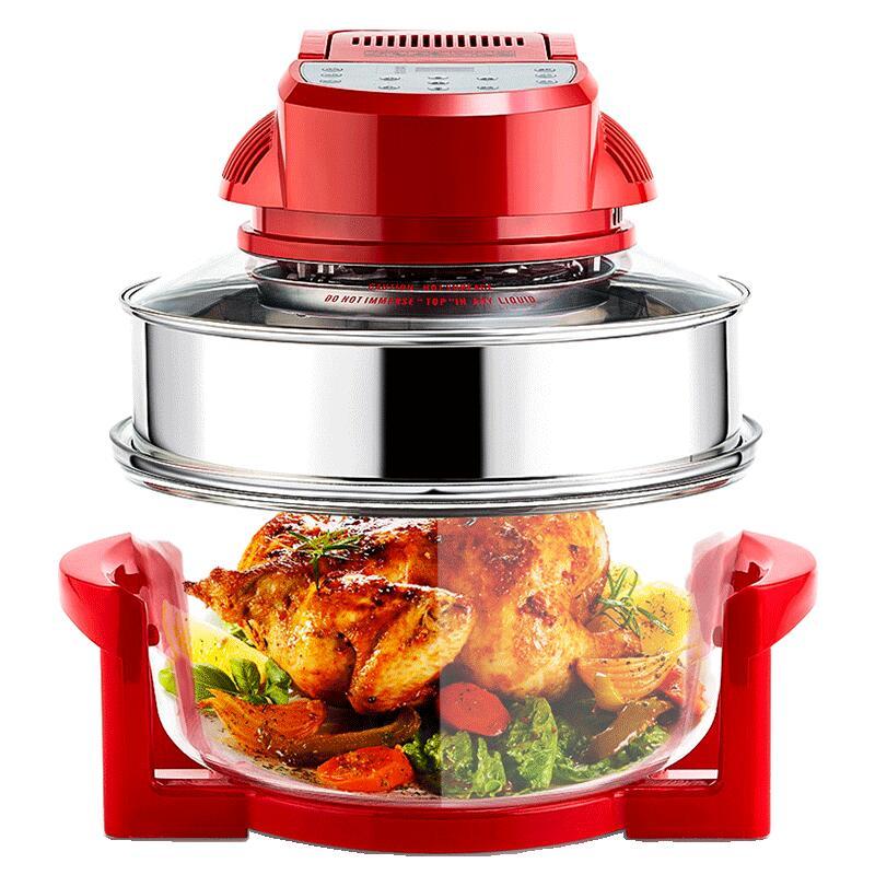 厨莱克斯空气炸锅大容量家用多功能新款智能全自动特价无油电炸锅