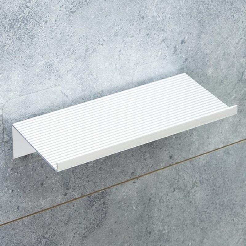 卫生间304不锈钢手机架厕所壁挂式免打孔置物架洗手间放手机托板