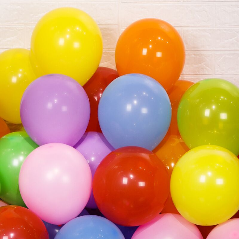 广告气球定制logo印字定做图案印刷二维码幼儿园汽球订做装饰刻字