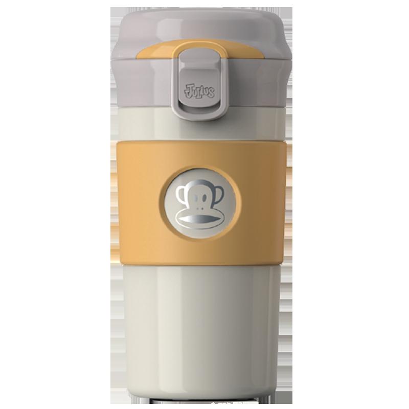 大嘴猴保温杯咖啡杯便携男女学生不锈钢刻字定制水杯可爱潮流杯子