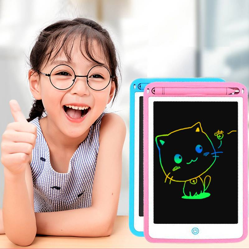儿童液晶手写板12寸画板彩色涂鸦画本10寸玩具男女孩写字板宝宝