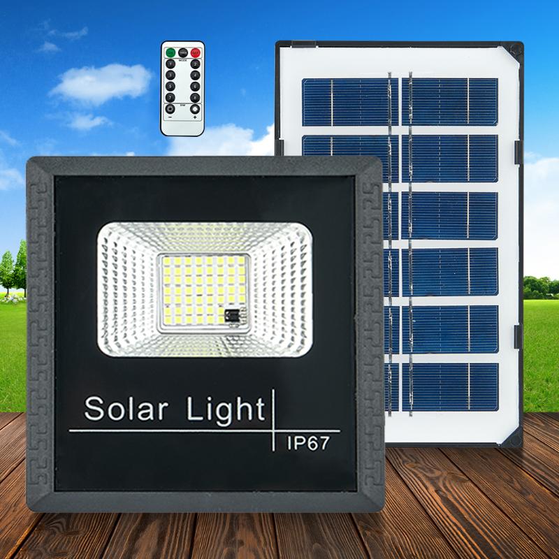 太阳能灯户外庭院灯超亮家用大功率新农村防水室内外100W照明路灯