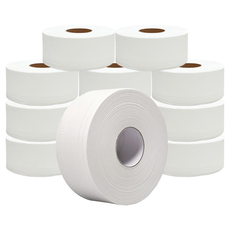 帝洁大卷纸厕纸擦手纸酒店专用商务大盘纸厕所纸巾卫生纸12大卷装