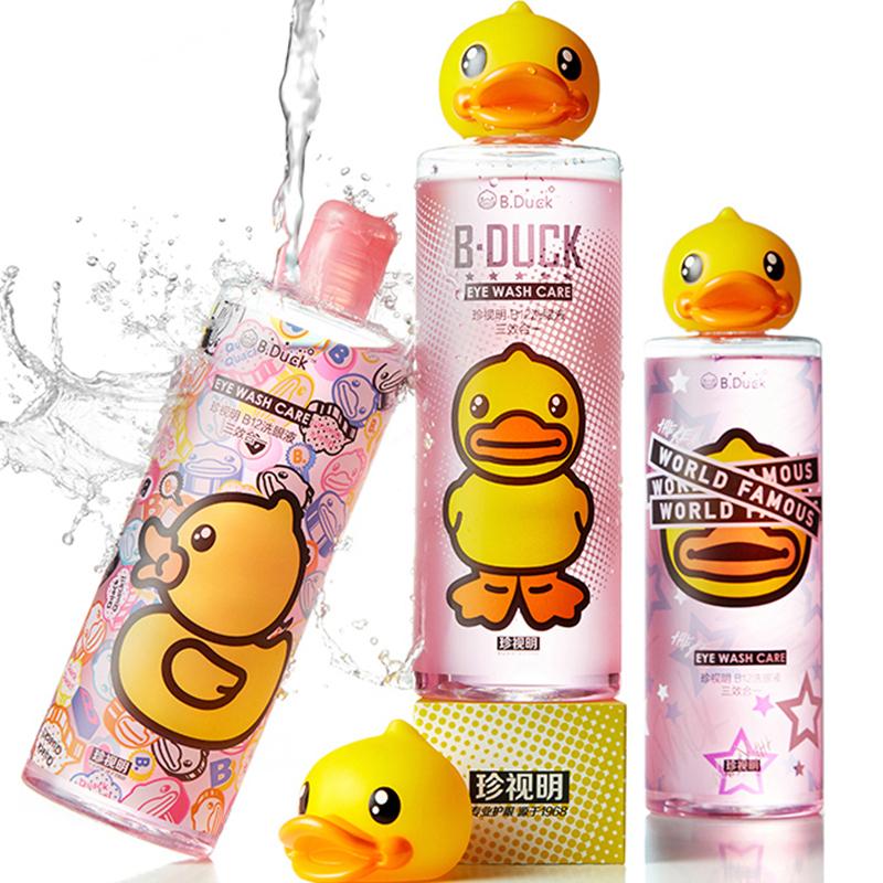 珍视明小黄鸭洗眼液500ml清洁眼部护理洗眼睛水眼睛清洗液清洁