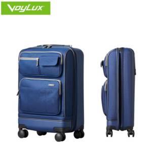 【欧盟专利】行李箱结实耐用加厚超静音防震万向轮前置折叠旅行箱
