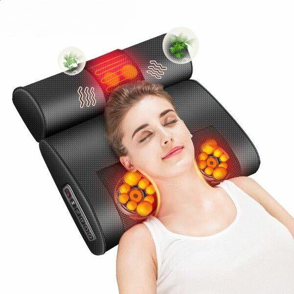 志高肩颈椎按摩器仪颈部背部腰部肩部多功能家用脊椎脖子电动枕头