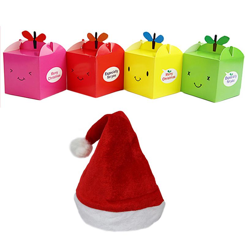 圣诞节雪人苹果袋包装袋圣诞装饰创意苹果盒平安果夜手提袋礼物袋