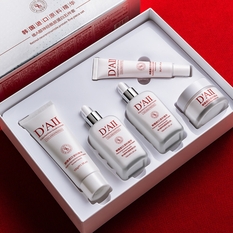 维A醇神经酰胺蛋白护肤品套装保湿补水修护洁面水乳霜眼霜五件套