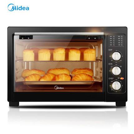 Midea/美的电烤箱家用全自动烘焙多功能38L大容量烤鸡烤蛋糕蛋挞