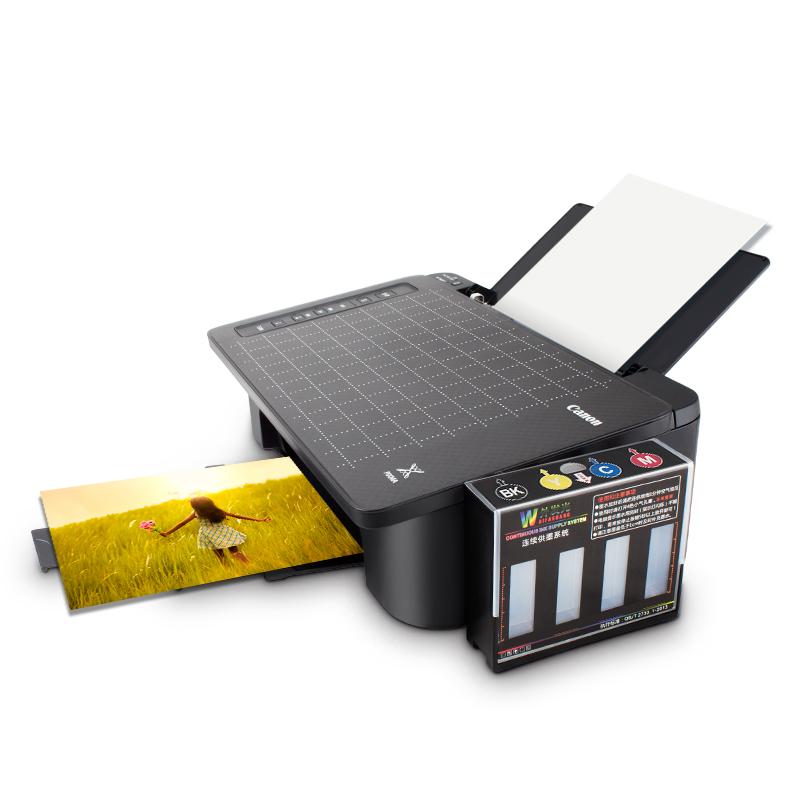 佳能ts308彩色黑白喷墨打印机办公家用小型学生宿舍手机直连复印