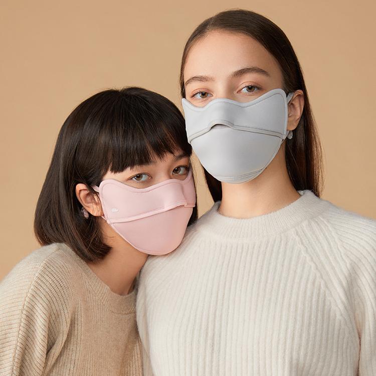 BENEUNDER护眼角防晒口罩女防紫外线薄款面罩全脸夏季透气遮脸罩