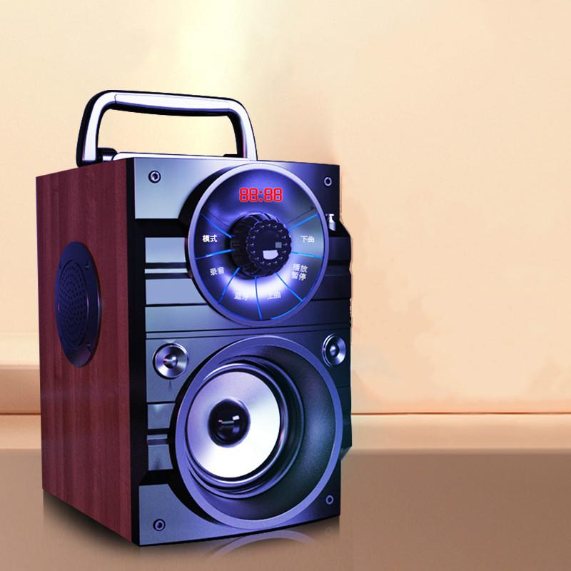 康佳 A107广场舞音响户外小音箱家用客厅K歌环绕立体声低音炮双喇叭音响大音量迷你无线蓝牙音箱小型便携式