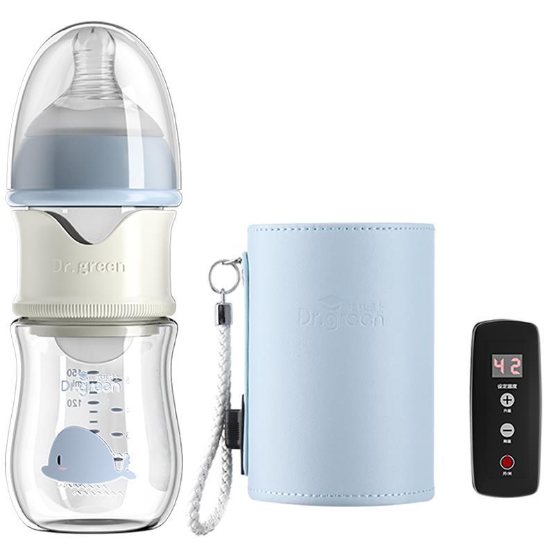格林博士奶瓶正品新生儿加热保温奶瓶恒温速冲充电智能夜奶神器
