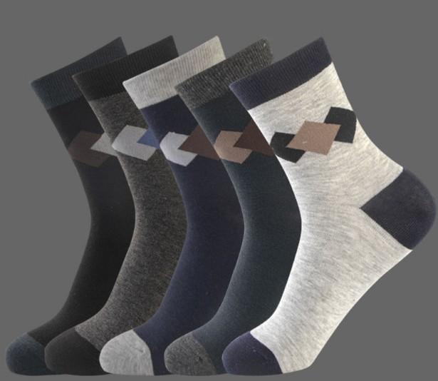 5/10双袜子男中筒春夏款棉袜防臭吸汗男士袜子商务袜成人纯色男袜