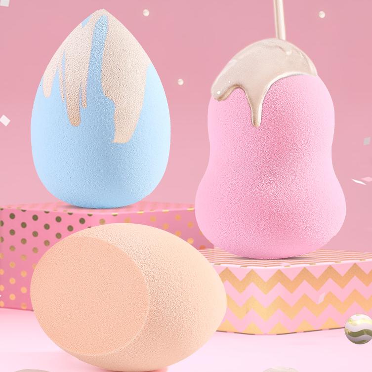3个装|李佳埼美妆蛋海棉蛋粉扑不吃粉气垫彩妆蛋干湿两用化妆工具