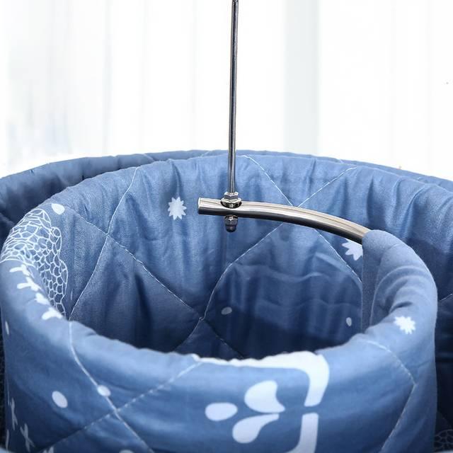 旋转衣架晒床单被子神器圆形螺旋式晾晒毛毯阳台室内不锈钢晾衣架