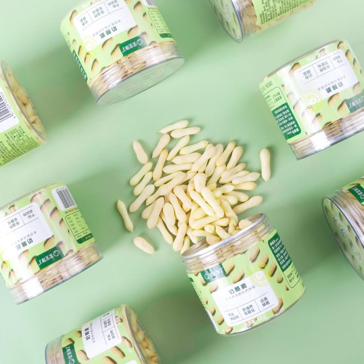 宝宝馋了新品儿童零食果蔬奶酪脆单罐装送12月+婴儿幼儿食谱