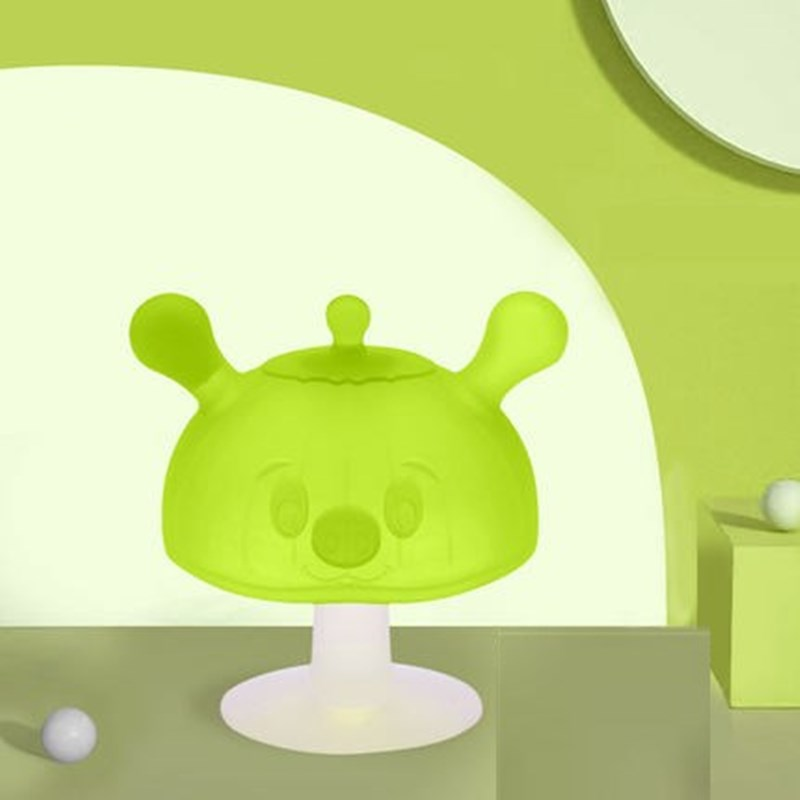 AYBIAY食品级手环牙胶小蘑菇牙胶婴儿磨牙可水煮硅胶防吃手咬咬乐