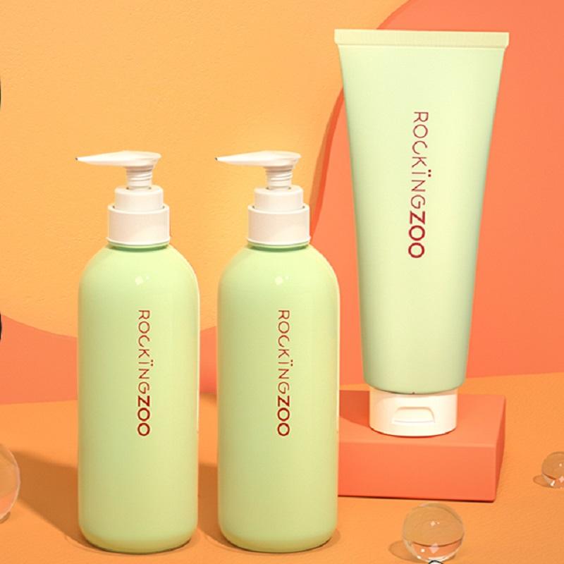 摇滚动物园氨基酸控油蓬松1980洗发水护发素套装洗发露香味留香