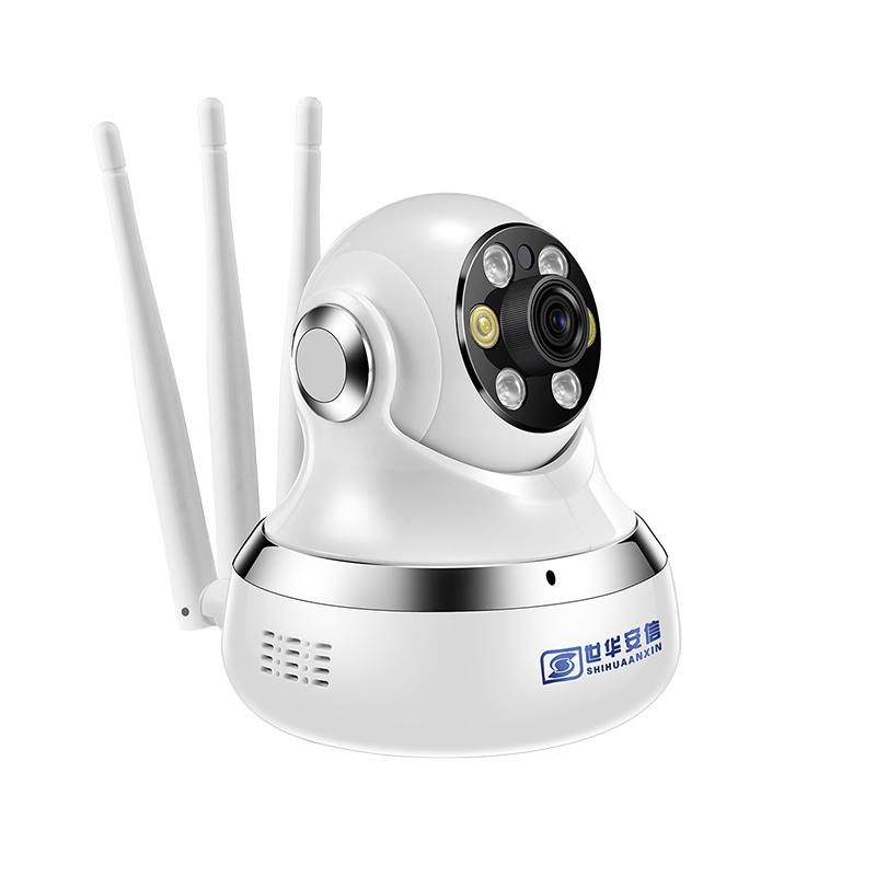 无线360度全景摄像头家用WiFi网络室外连手机远程高清夜视监控器
