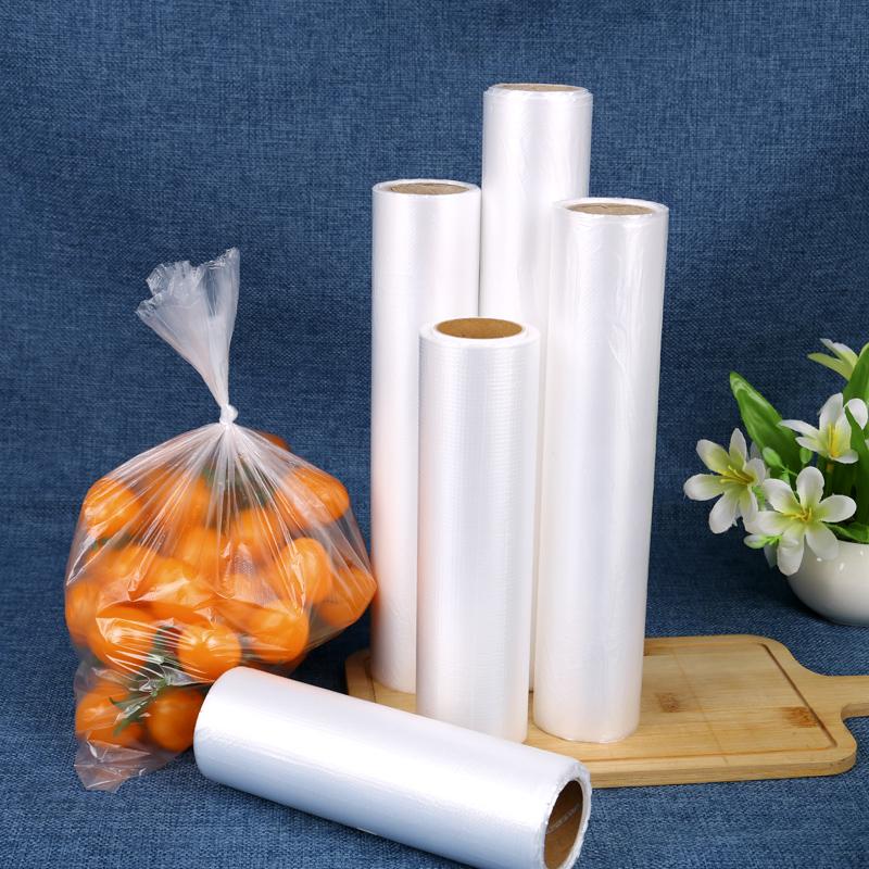 食品pe保鲜袋加厚超市连卷袋保险袋家用经济装耐高温密封袋食品袋