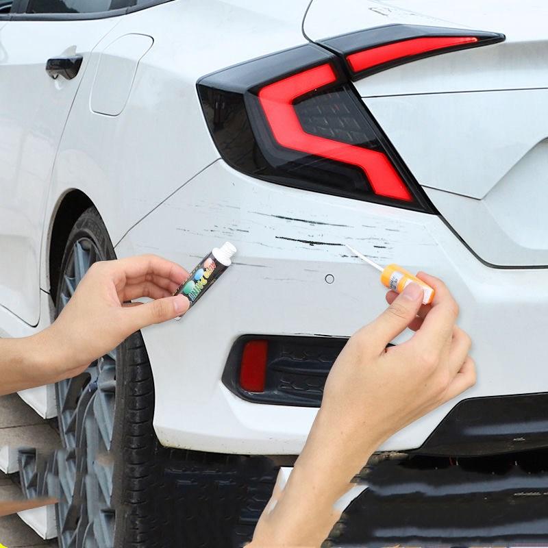 汽车补漆笔修补车漆神器划痕修复深度刮痕去痕液珍珠白色黑油漆面