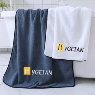 浴巾家用成人男女士沐洗澡比纯棉全棉吸水速干不掉毛超大款号裹巾