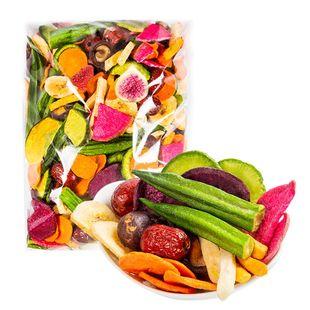 综合果蔬脆蔬菜干水果干混合装什锦果蔬脆片孕妇零食小吃休闲食品