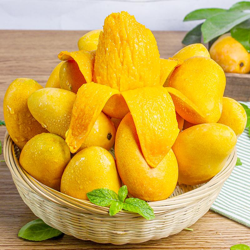 海南小台农芒果10斤大果一级新鲜水果热带应季小核小台芒整箱包邮