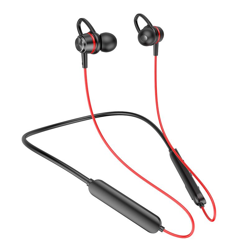 希华尔运动无线蓝牙耳机双耳5.0入耳挂脖式跑步磁吸安卓苹果通用