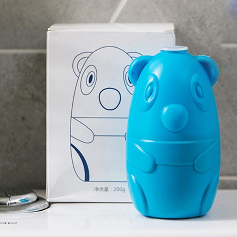 洁厕宝蓝泡泡洗厕所家用清香型洁厕灵小熊除臭去异味马桶清洁剂