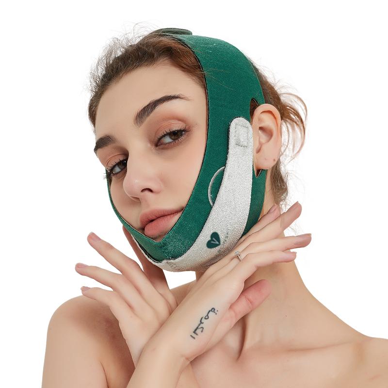瘦脸神器 v脸绷带面膜睡雕塑形面罩美容仪提拉紧致小双下巴法令纹