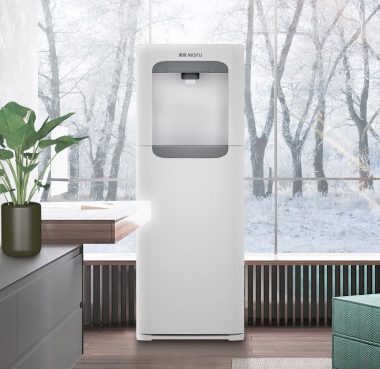 魔雨快速出热水饮水机下置水桶立式家用制冷制热茶吧机冰热两用