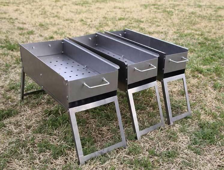 烧烤炉烧烤架子家用户外木炭烤肉折叠全套烧炭大小号野外工具