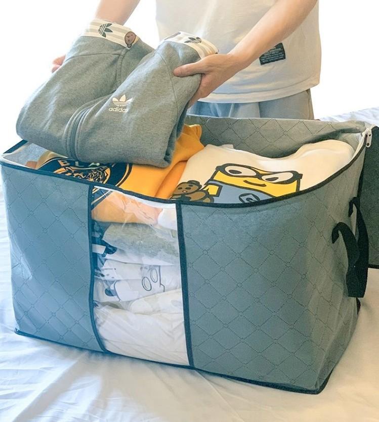 加厚棉被衣服收纳袋衣物整理箱装被子的袋子行李包搬家打包大号袋
