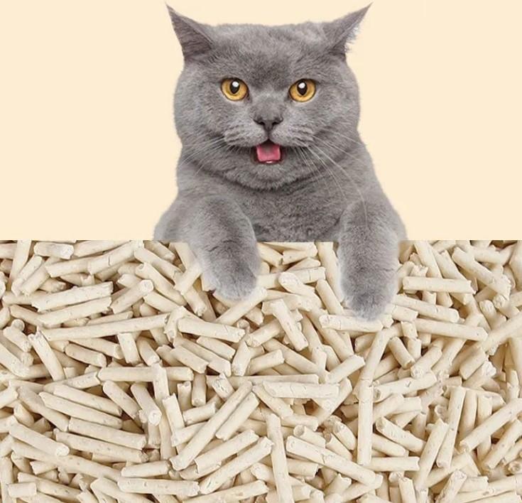 豆腐猫砂10公斤20斤装大袋猫砂10斤40斤豆腐砂渣除臭特价猫咪用品