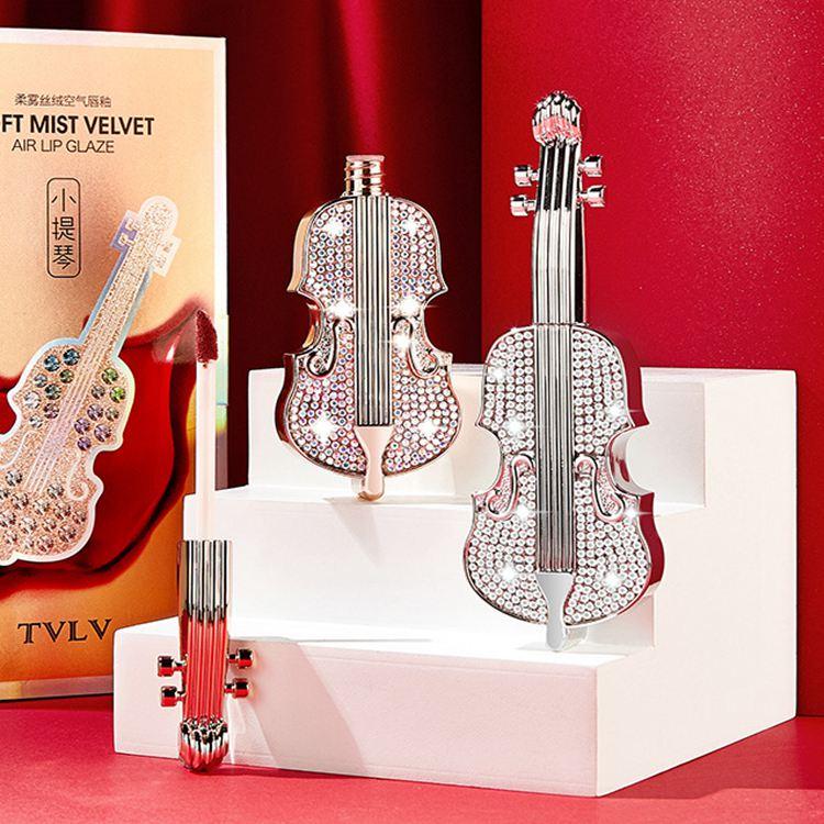 TVLV小提琴柔雾丝绒空气唇釉 持久不易掉色不沾杯口红